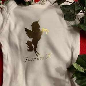 Other - Baby personalized onesie